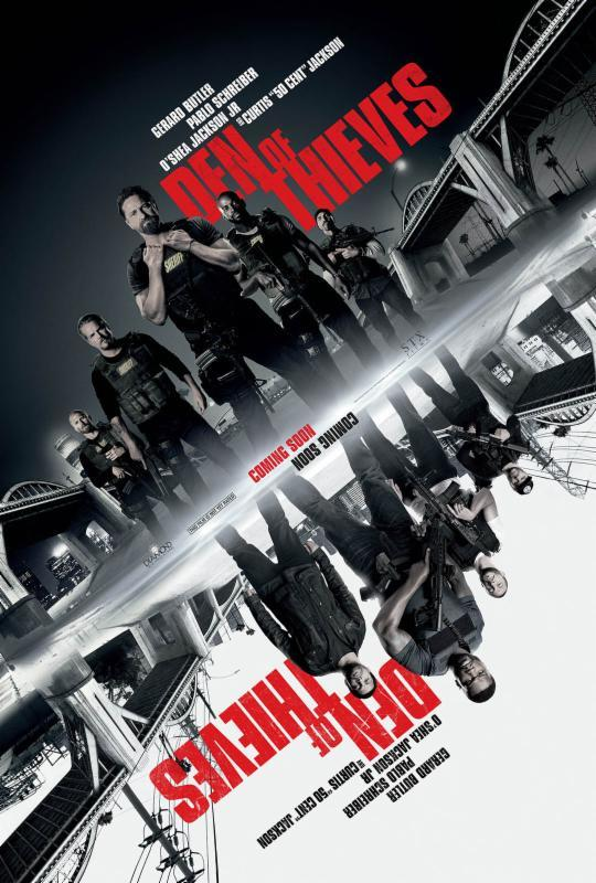 Den of Thieves 2018 720p UNRATED BRRip X264 AC3-EVO