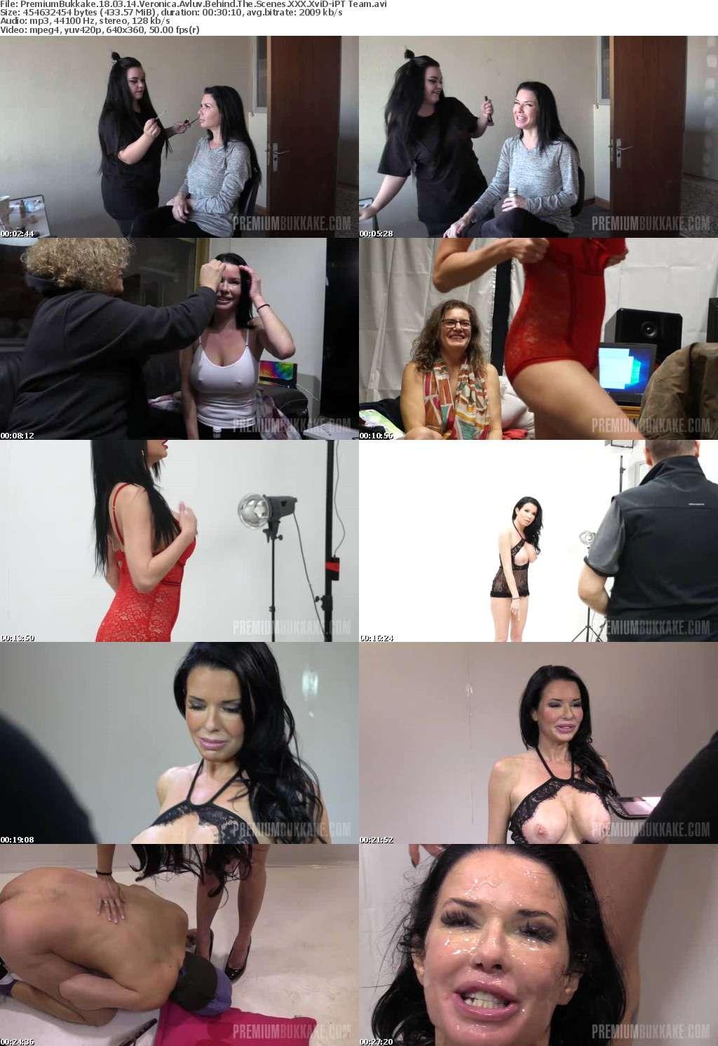 PremiumBukkake 18 03 14 Veronica Avluv Behind The Scenes XXX