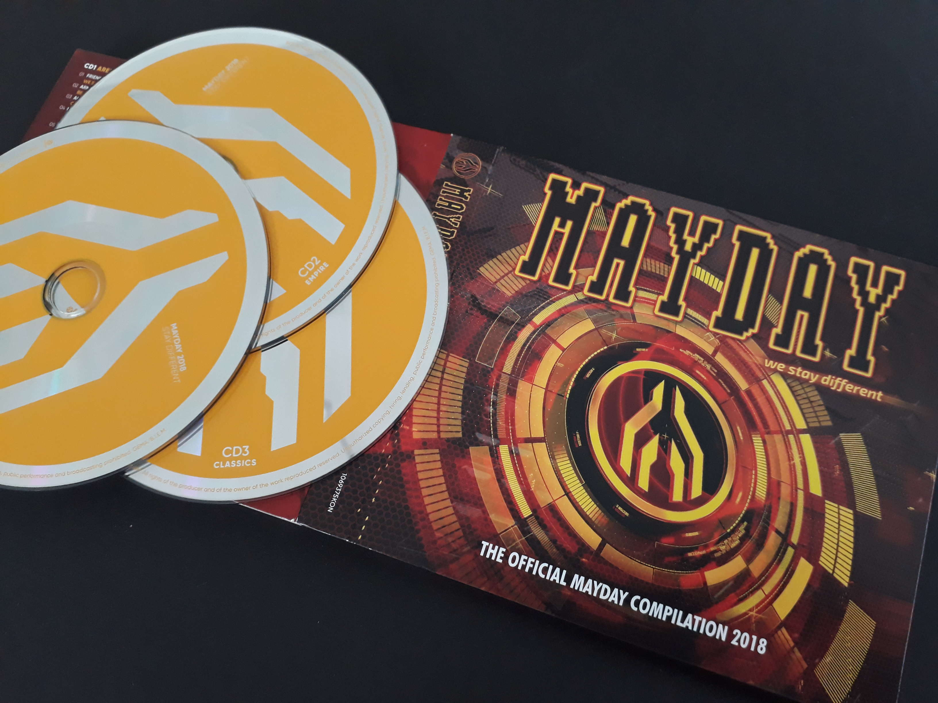 VA-Mayday 2018-We Stay Different-3CD-2018-VOiCE
