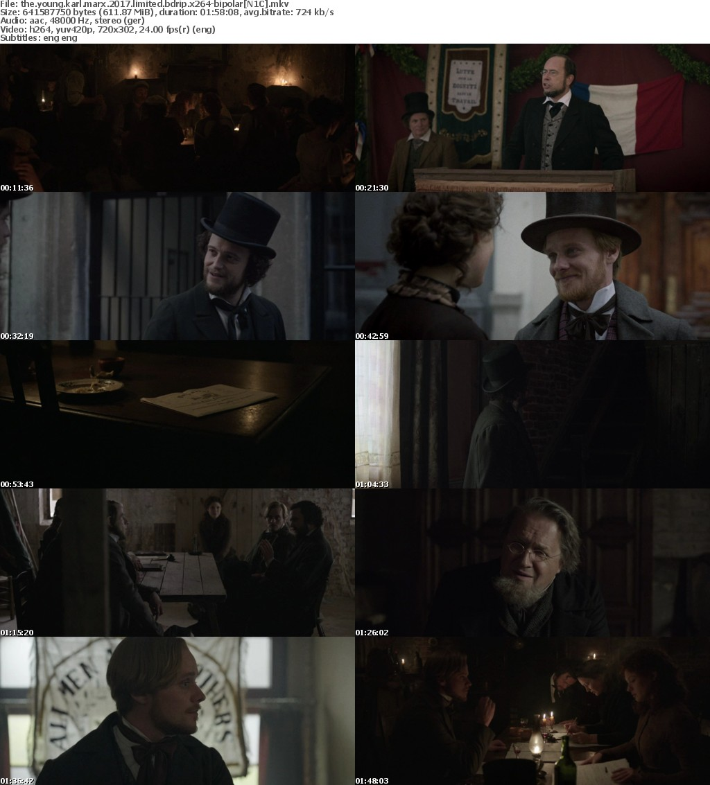 The Young Karl Marx (2017) LIMITED BDRip x264-BiPOLAR