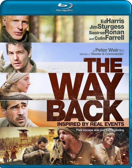 The Way Back (2010) 720p BluRay Dual Audio [Hindi+English] ESubs-DLW