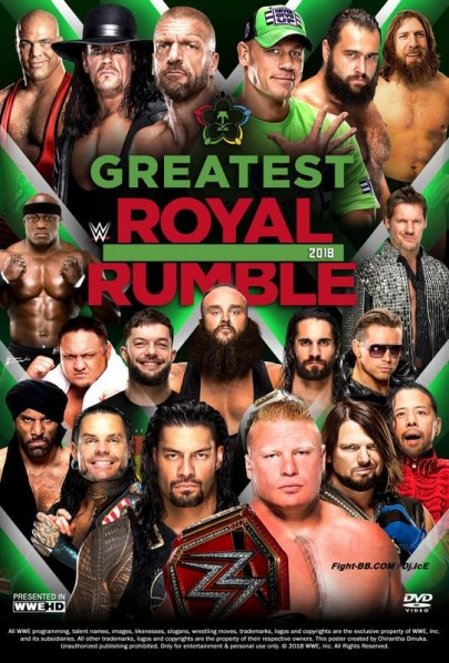 WWE Greatest Royal Rumble 27th April 2018 1.1GB PPV WEBRip 480p-DLW