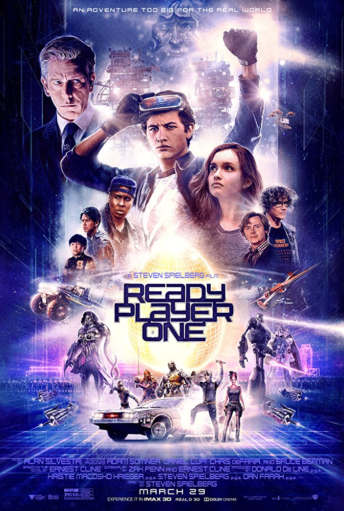 Ready Player One 2018 NEW 720p HDCAM HQMic LLG