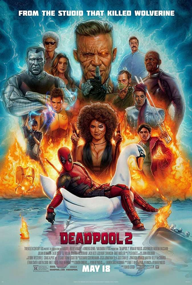Deadpool 2 2018 HDTS X264 AC3 English-RypS