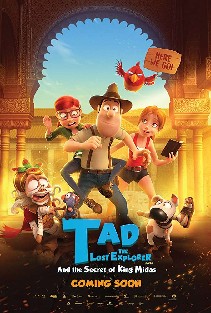 Tad The Lost Explorer And The Secret Of King Midas 2017 MULTi 1080p BluRay x264-THREESOME