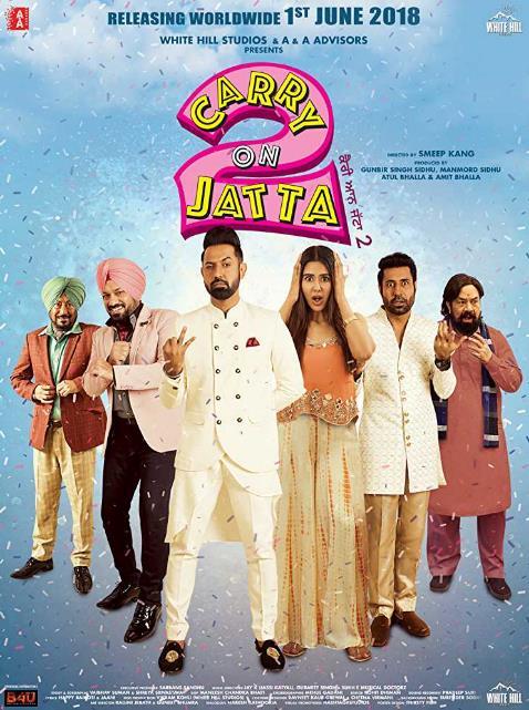 Carry On Jatta 2 (2018) Punjabi 720p HD x264 HC ESubs 1.5GB-DLW