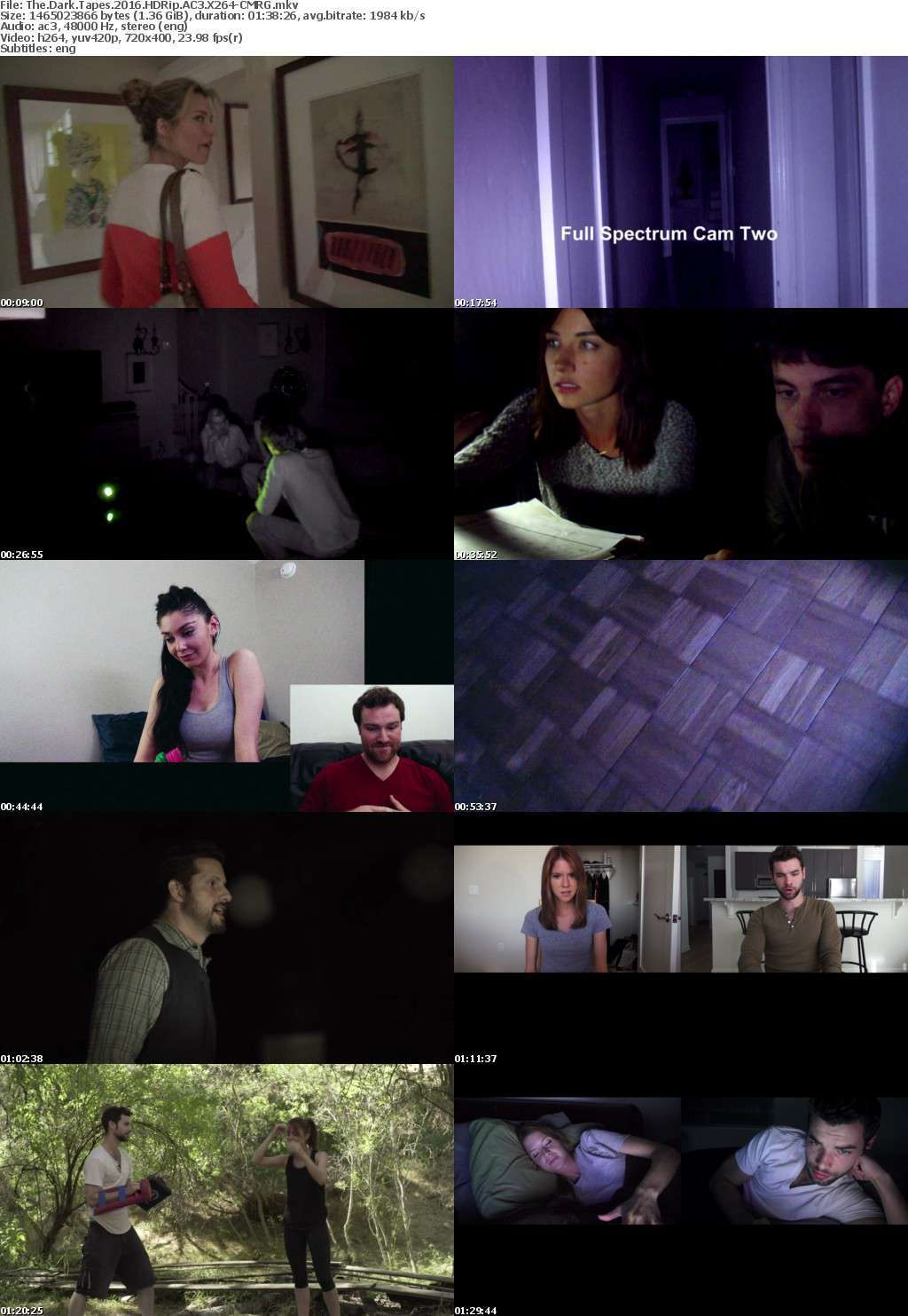 The Dark Tapes (2016) HDRip AC3 X264-CMRG