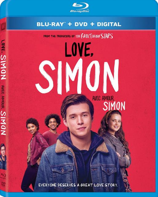Love Simon (2018) 720p BluRay Dual Audio ORG [Hindi+English] ESubs-DLW
