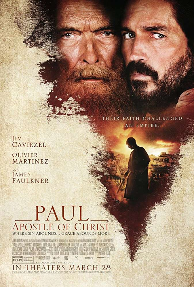 Paul Apostle of Christ 2018 BRRip AC3 X264-CMRG