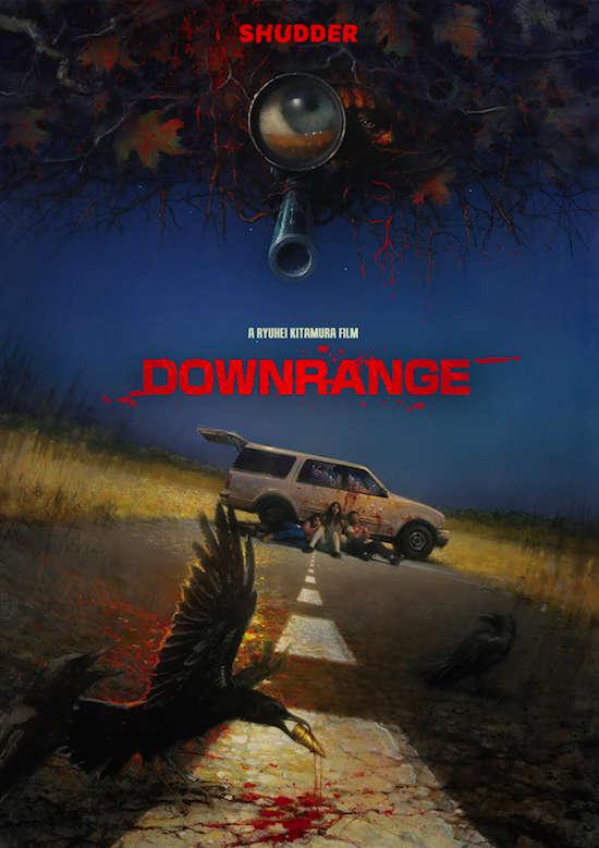 Downrange 2017 BRRip AC3 X264-CMRG