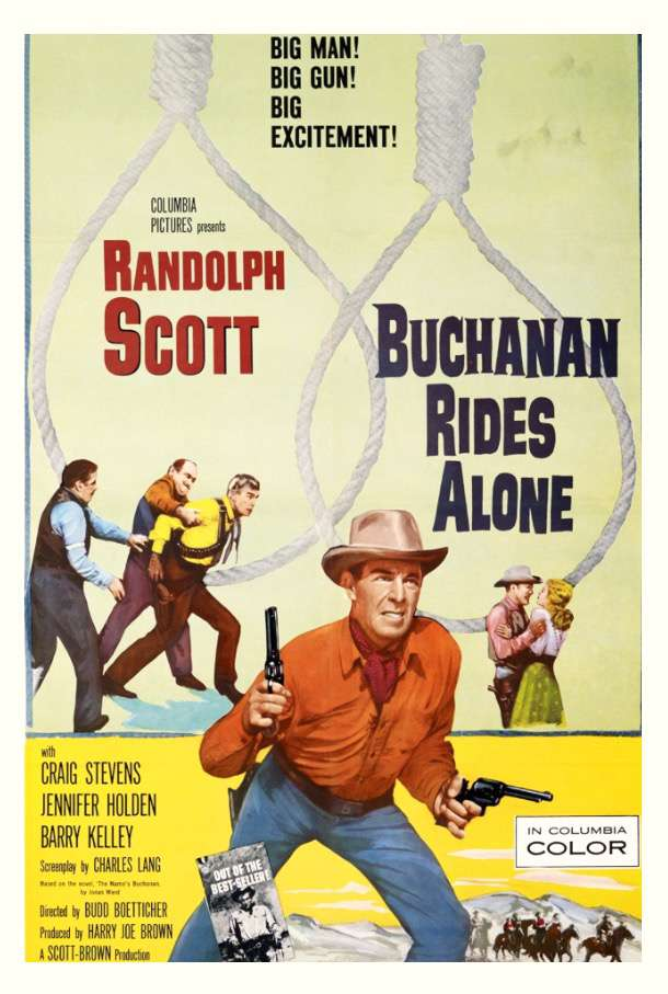 Buchanan Rides Alone 1958 RESTORED BDRip x264-SPOOKS