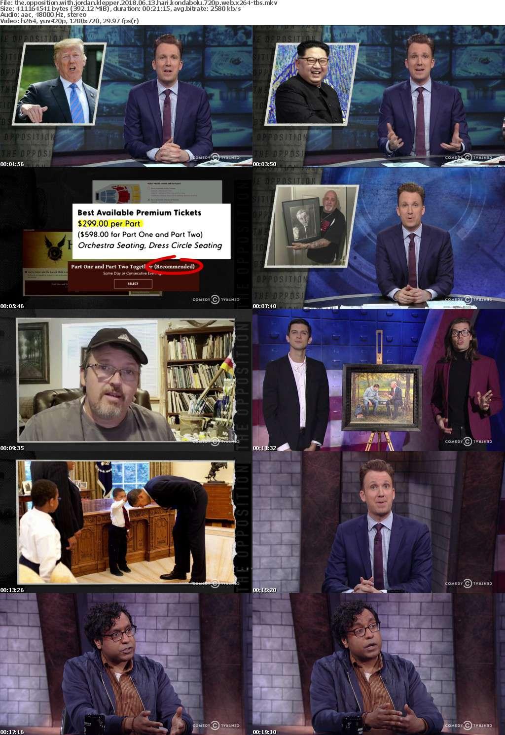 The Opposition with Jordan Klepper 2018 06 13 Hari Kondabolu 720p WEB x264-TBS