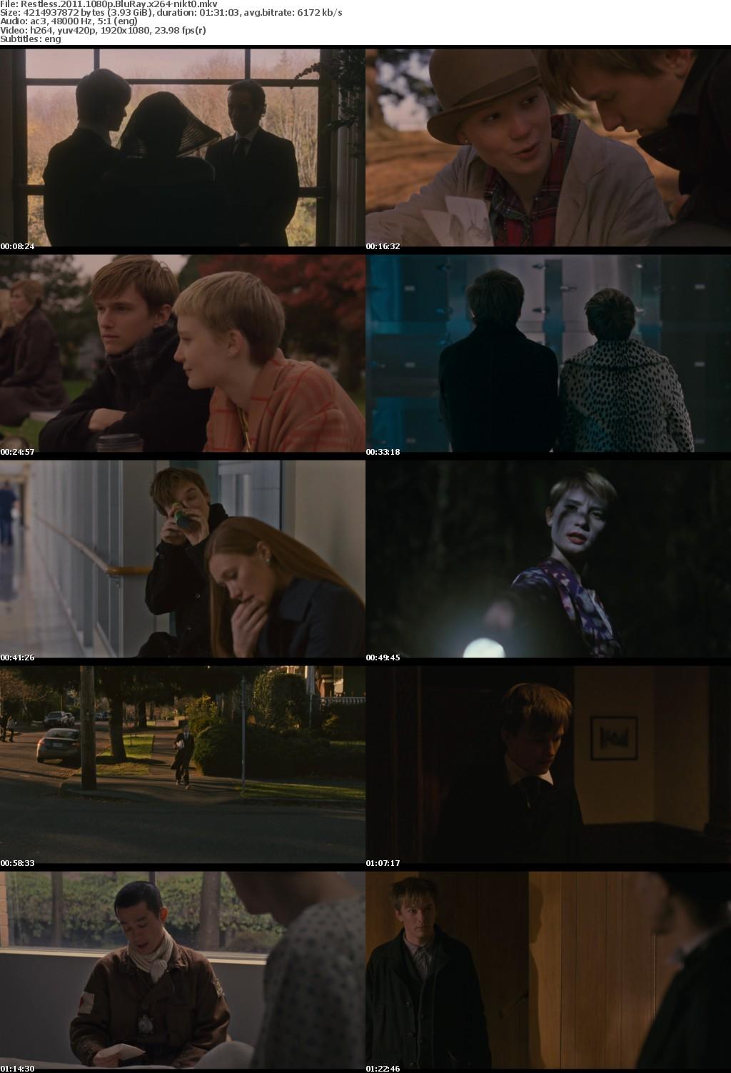 Restless 2011 1080p BluRay x264-nikt0