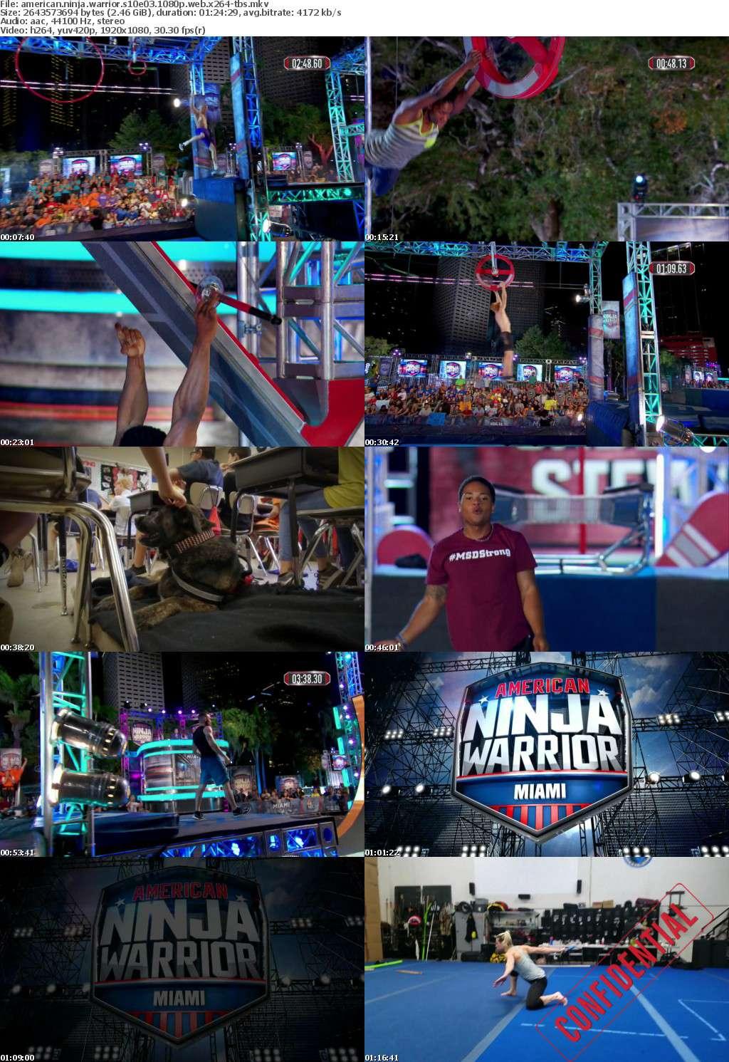 American Ninja Warrior S10E03 1080p WEB x264-TBS
