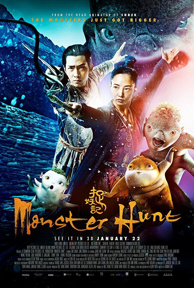 Monster Hunt 2015 720p BluRay x264 Dual Audio Hindi 2 0 - Chinese 2 0 ESub MW