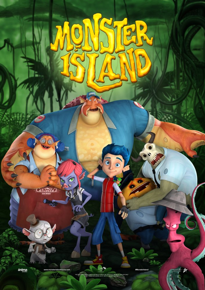 Monster Island 2017 BDRip AC3 X264-CMRG