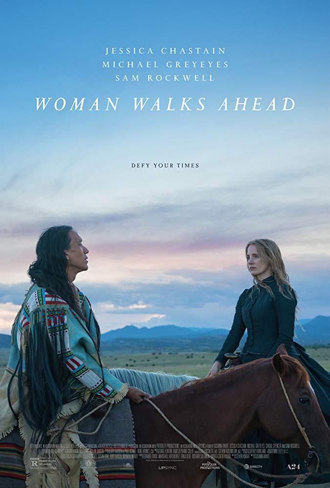 Woman Walks Ahead 2018 720p WEB-DL DD5.1 H264 850MB-Movcr
