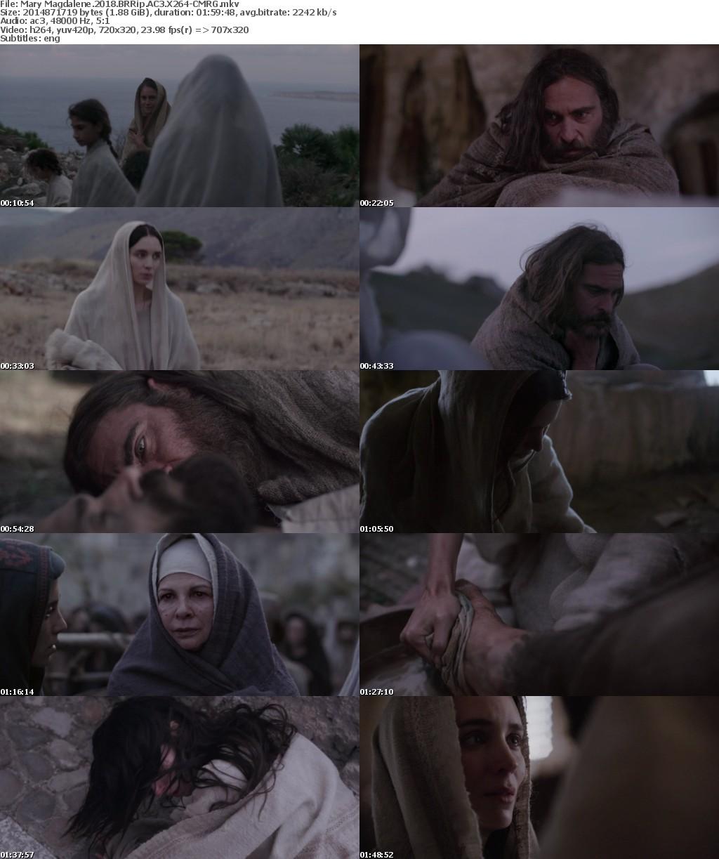Mary Magdalene (2018) BRRip AC3 X264-CMRG