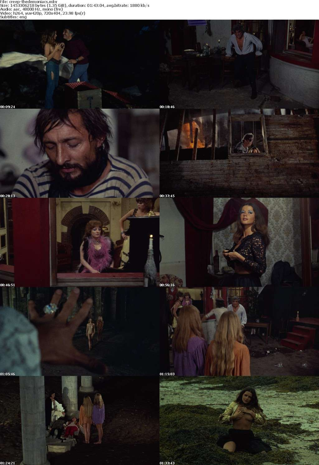 The Demoniacs 1974 REMASTERED BDRiP x264-CREEPSHOW