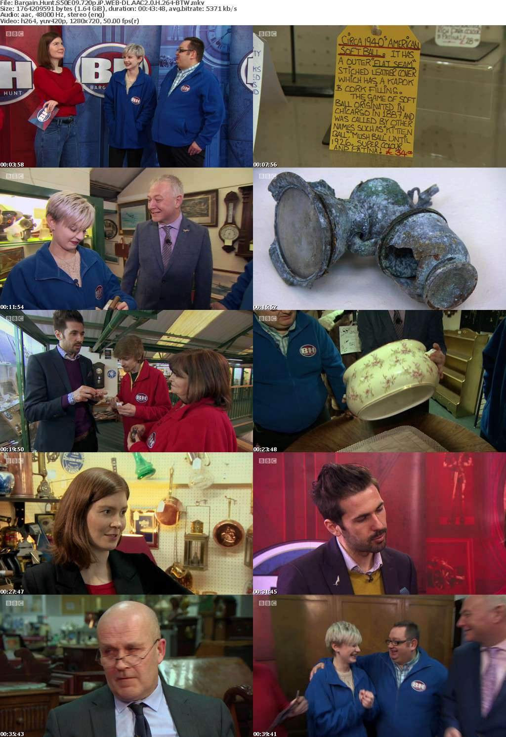 Bargain Hunt S50E09 720p iP WEB-DL AAC2 0 H 264-BTW