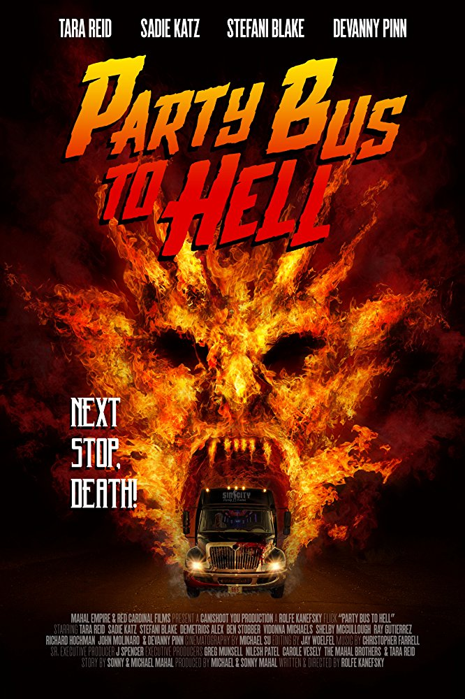 Party Bus to Hell (2017) BRRip XviD AC3-EVO