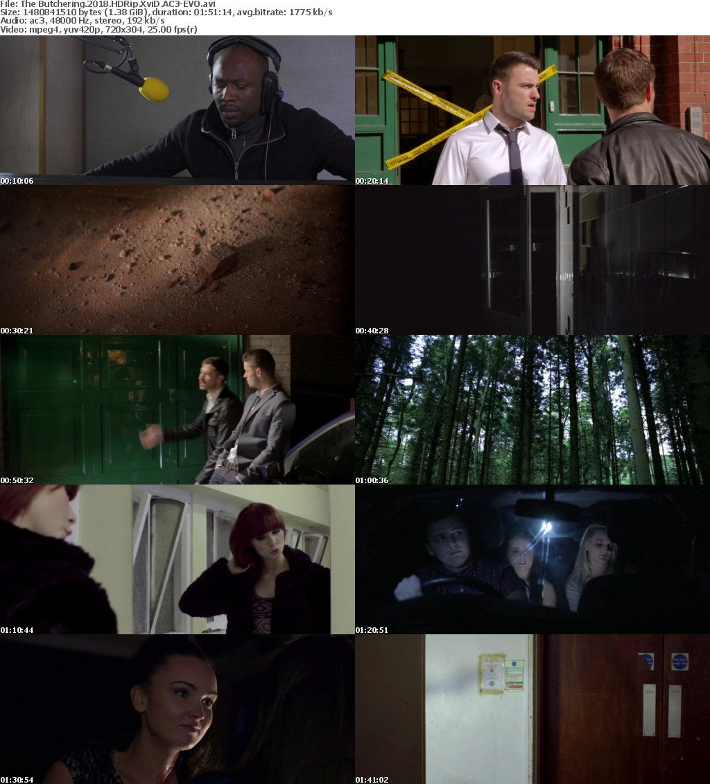 The Butchering (2018) HDRip XviD AC3-EVO