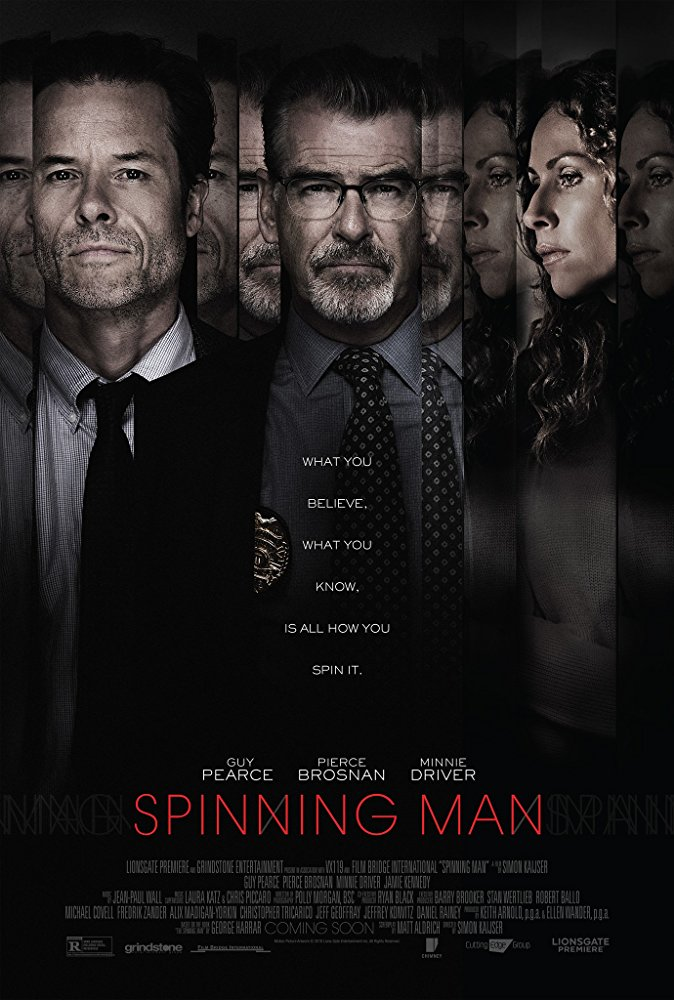 Spinning Man (2018) [BluRay] [720p] YIFY
