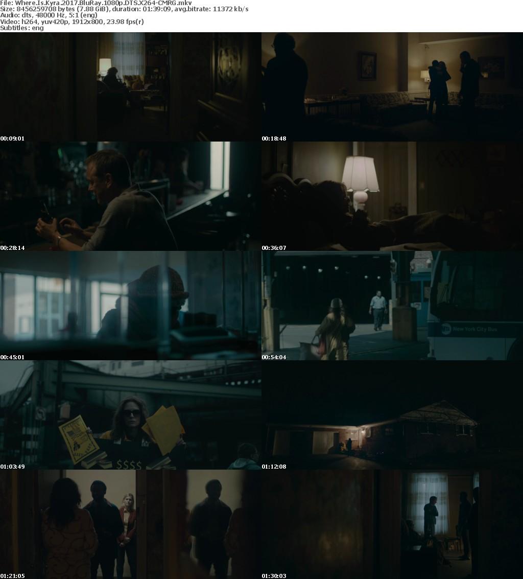 Where Is Kyra 2017 BluRay 1080p DTS X264-CMRG