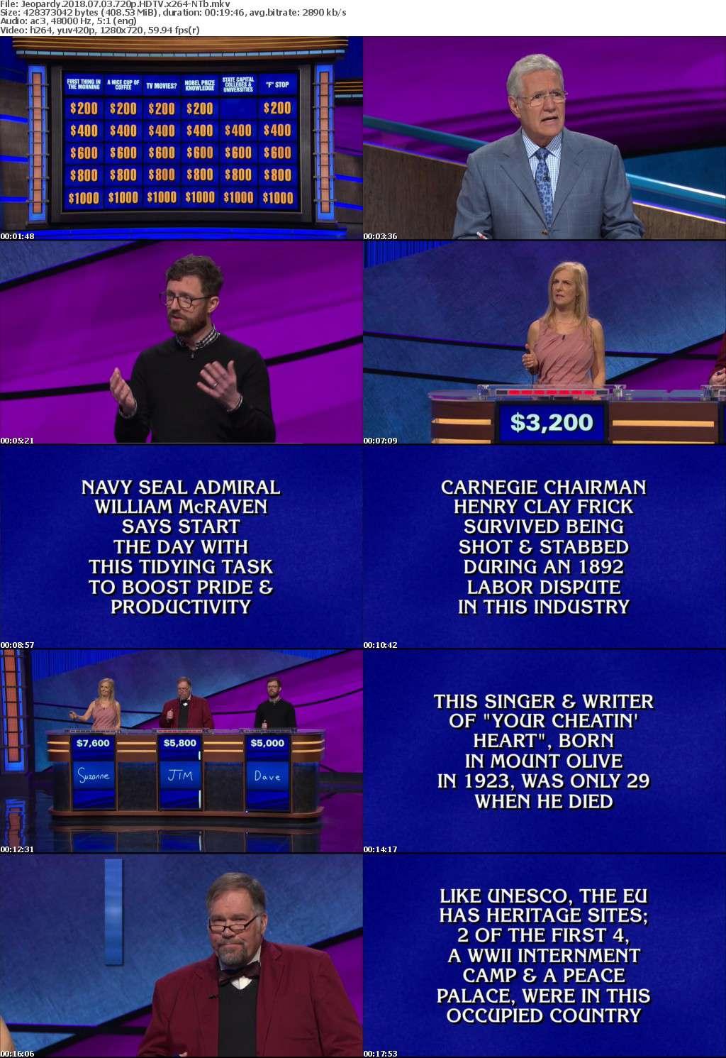 Jeopardy 2018 07 03 720p HDTV x264-NTb