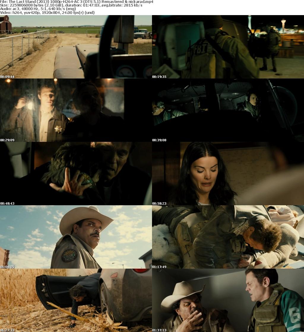 The Last Stand (2013) 1080p BluRay H264 AC 3 Remastered-nickarad