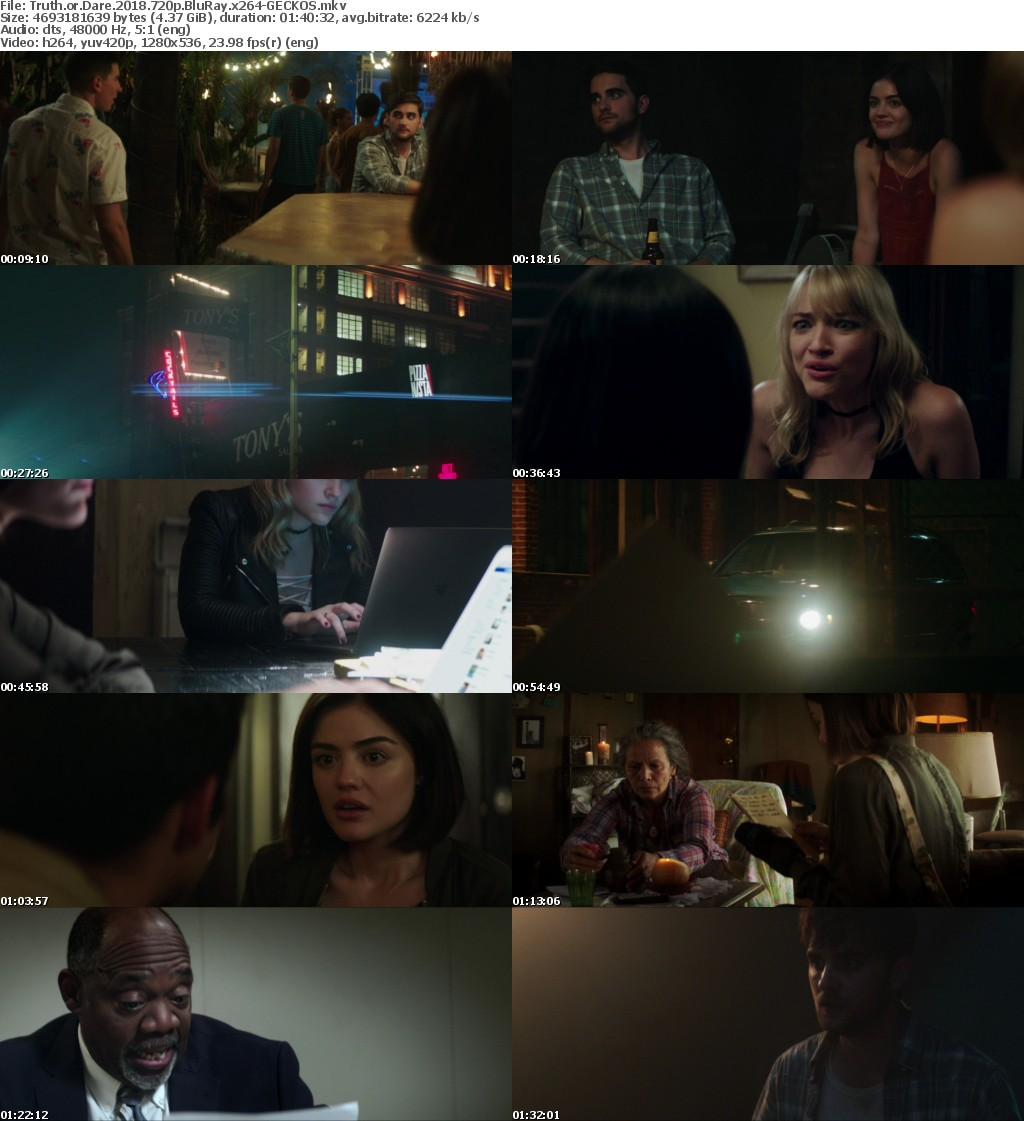 Truth or Dare 2018 720p BluRay x264-GECKOS