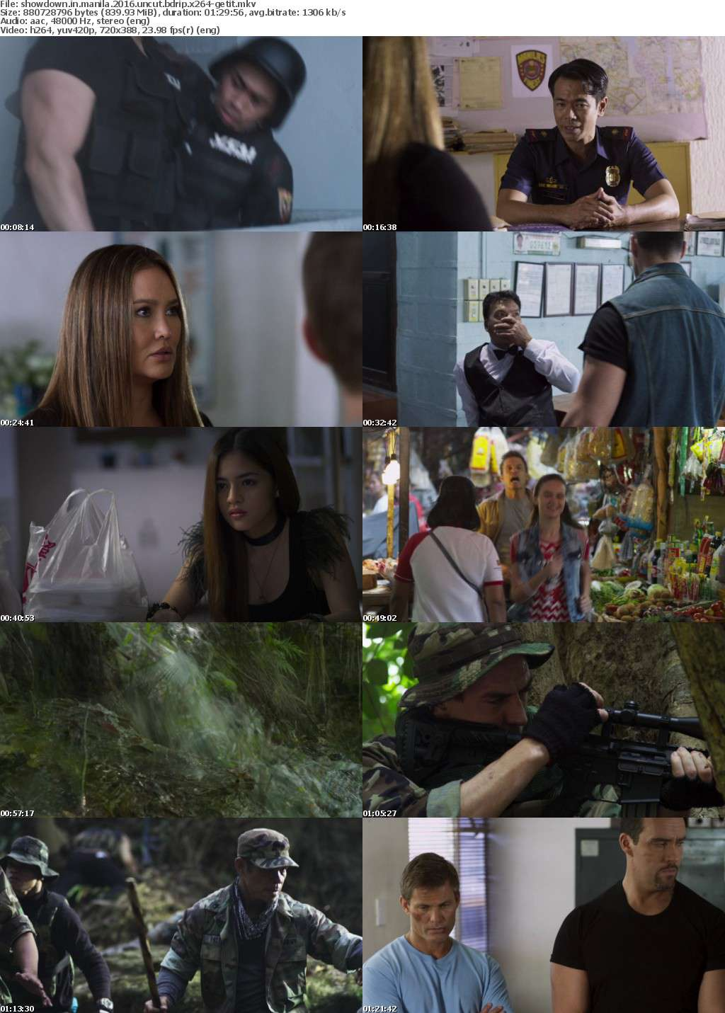 Showdown In Manila (2016) UNCUT BDRip x264-GETiT