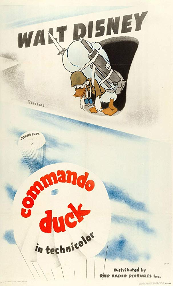 Commando Duck (1944)-Walt Disney-1080p-H264-AC 3 (DTS 5 1) Remastered nickarad