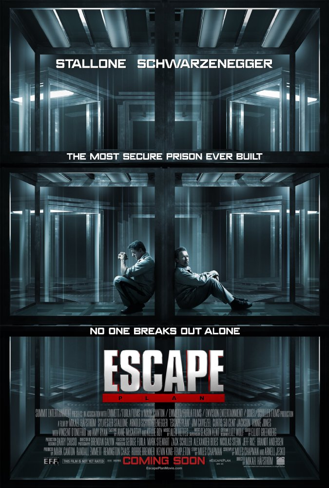 Escape Plan 2013 720p BluRay Hindi English AC3 - LOKI - M2Tv