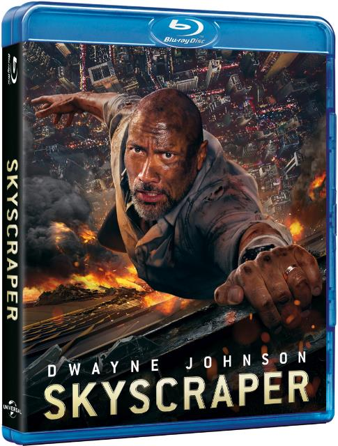 Skyscraper (2018) 720p BluRay x264 6CH 850MB ESubs - MkvHub