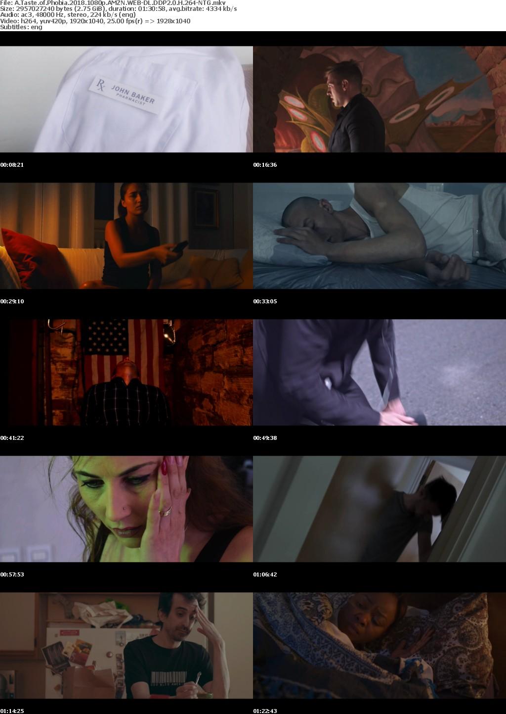 A Taste of Phobia (2018) 1080p AMZN WEBRip DDP2 0 x264-NTG