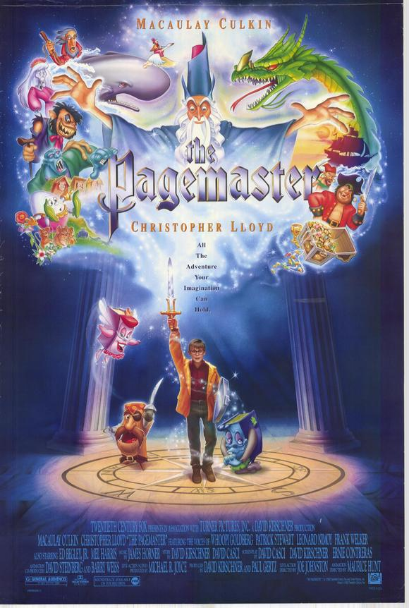 The Pagemaster 1994 720p BluRay H264 AAC-RARBG