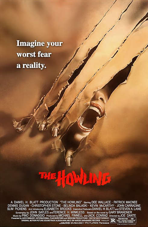 The Howling 1981 720p BluRay x264 Dual Audio Hindi - English 2 0 ESub MW