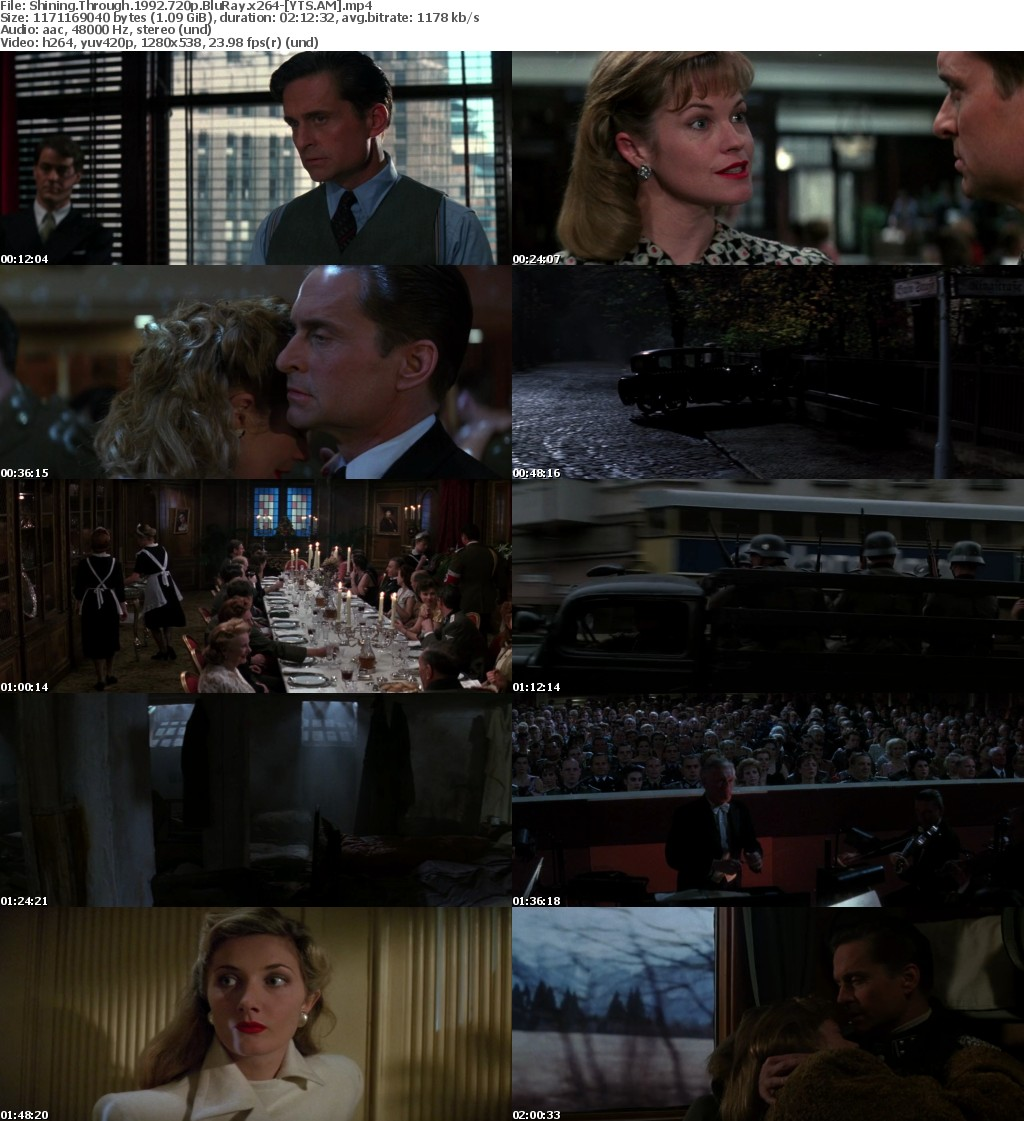 Shining Through (1992) [BluRay] [720p] YIFY