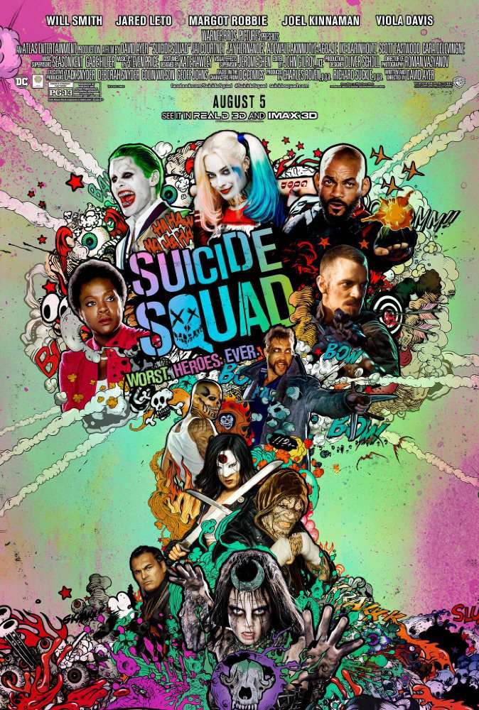 Suicide Squad (2016) [BluRay] [720p] YIFY