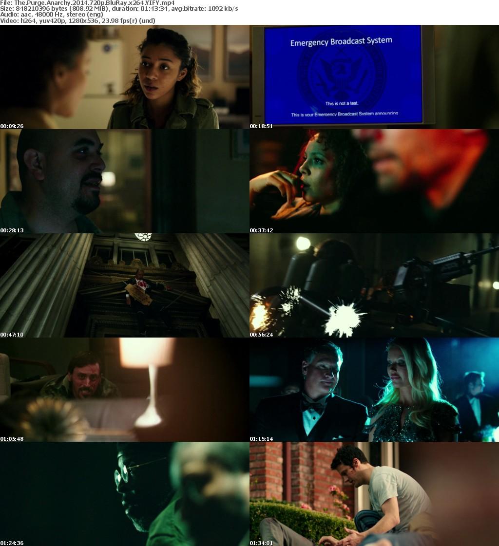 The Purge Anarchy (2014) [BluRay] [720p] YIFY