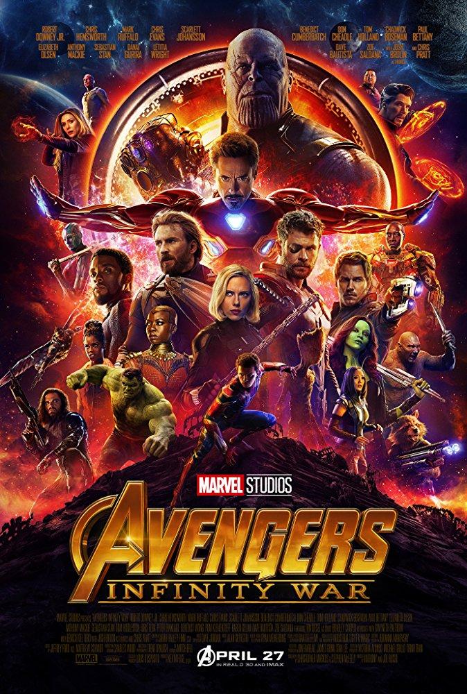 Avengers Infinity War (2018) 1080p BRRip X264 AC3-EVO[TGx]