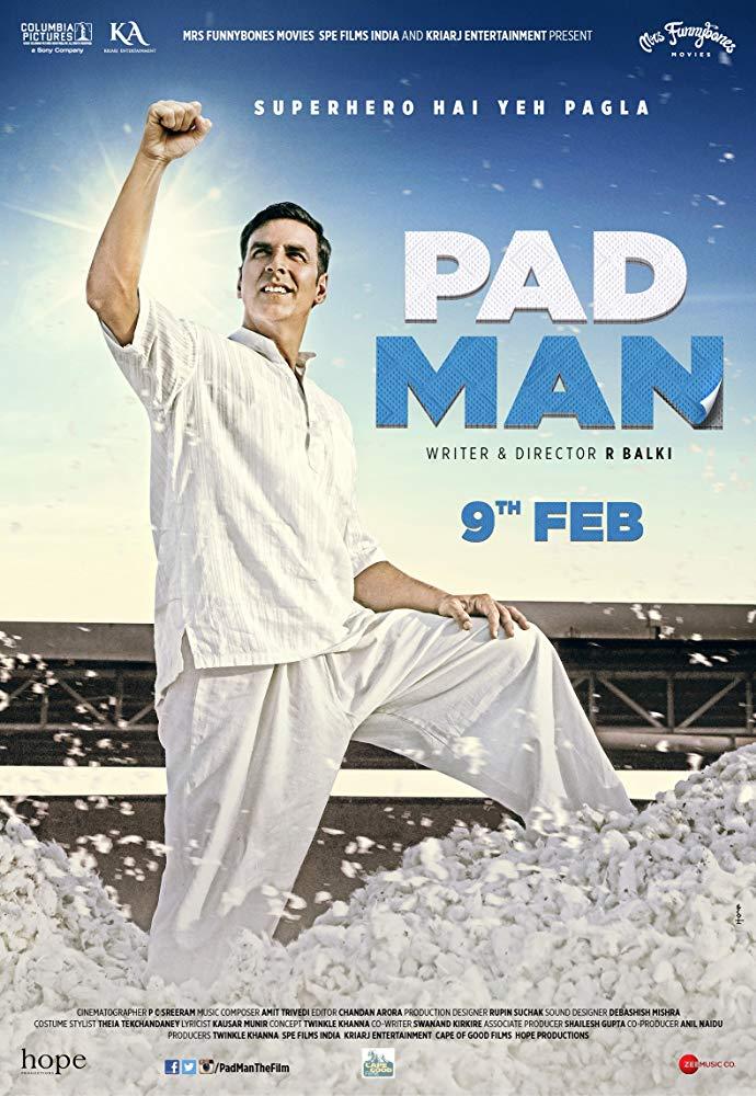 Padman 2018 Hindi 720p BluRay DD 5 1 x264 ESub MW