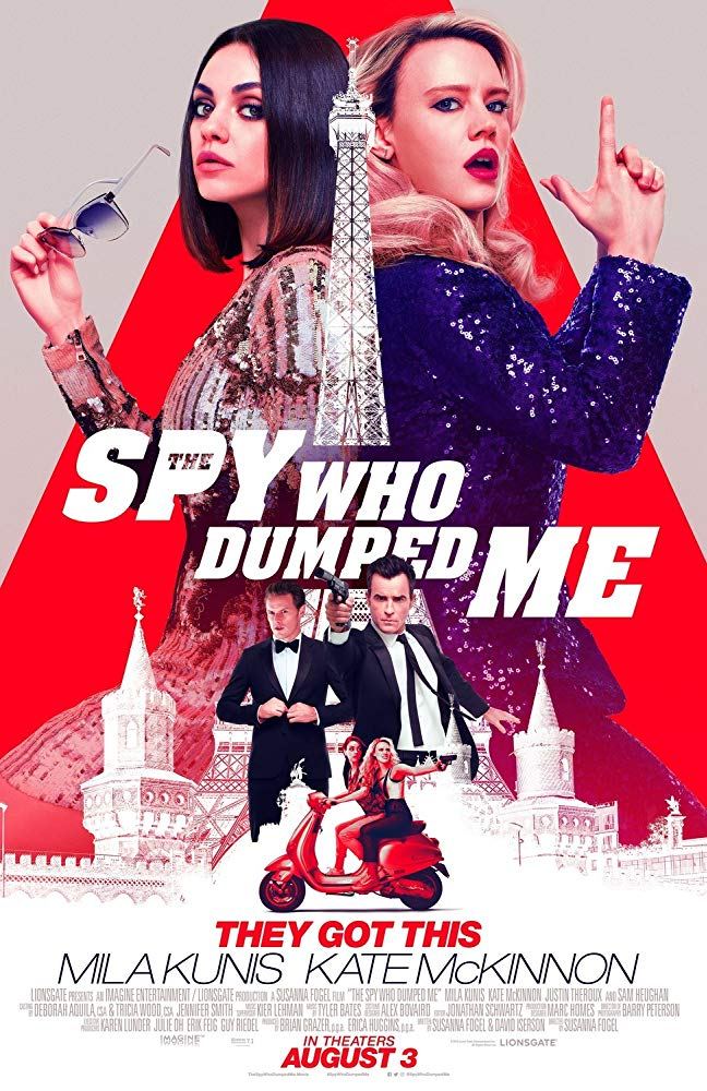 The Spy Who Dumped Me 2018 720p HDCAM x264 MW