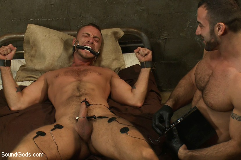 Aubergine torture gay free adult porn clips
