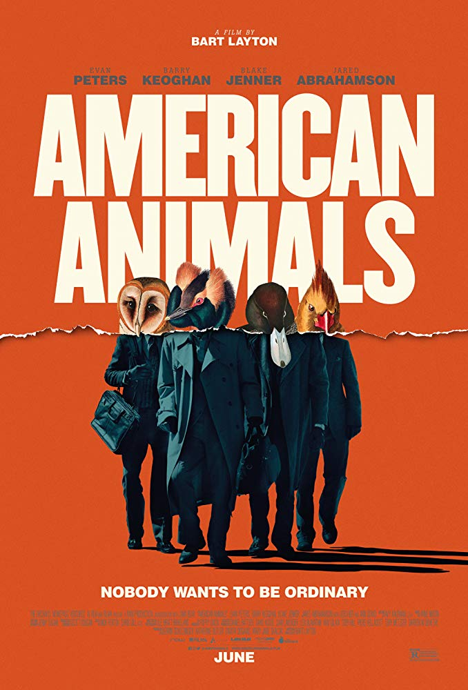 American Animals 2018 HDRip AC3 X264-CMRG