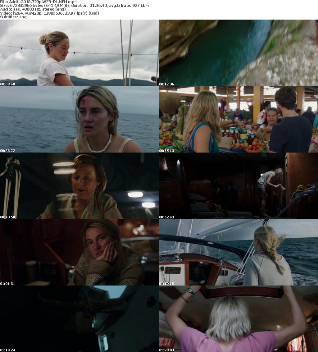 Adrift (2018) 720p WEB-DL NFH