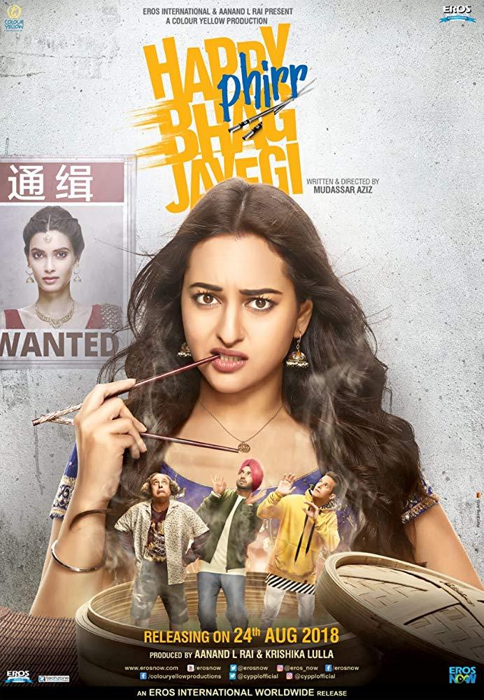 Happy Phirr Bhag Jayegi (2018) Hindi Desi Scr Rip ExDesi