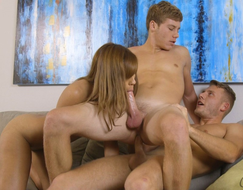 Kenny Fucks Dane & Demi (Corbin Fisher)