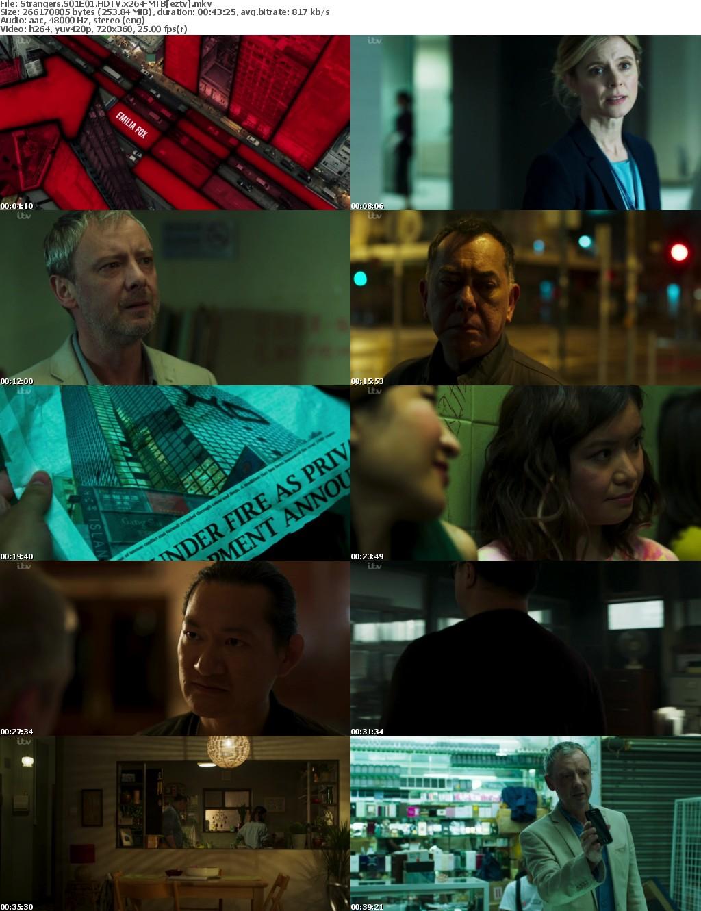 Strangers S01E01 HDTV x264-MTB